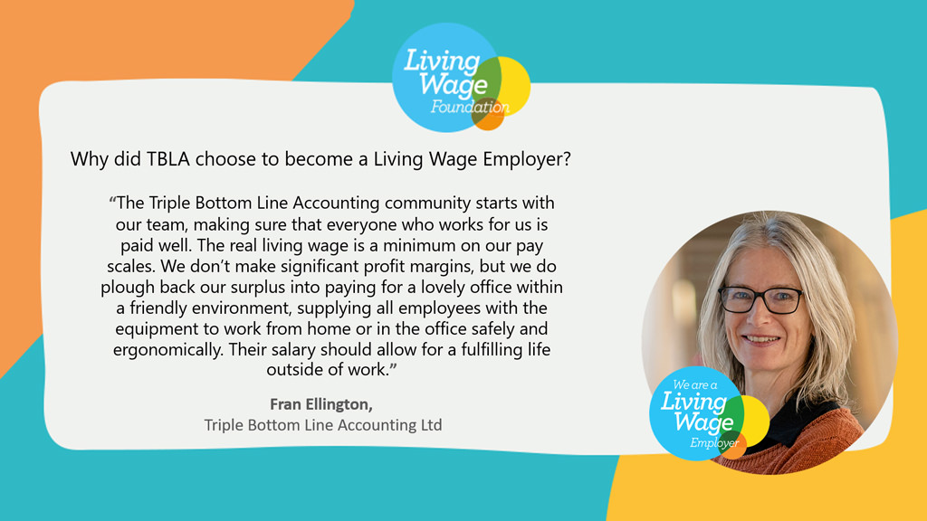 what living wage means to Fran Ellington