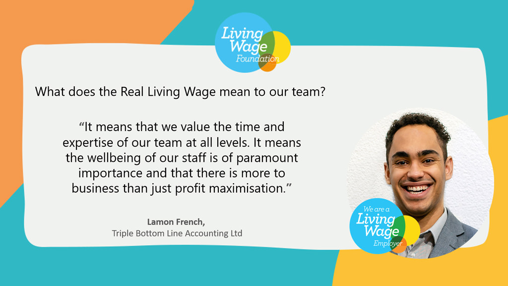 what living wage means to Lamon