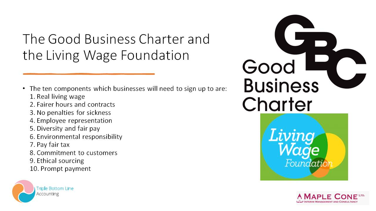 The Good Business Charter and the Living Wage Foundation